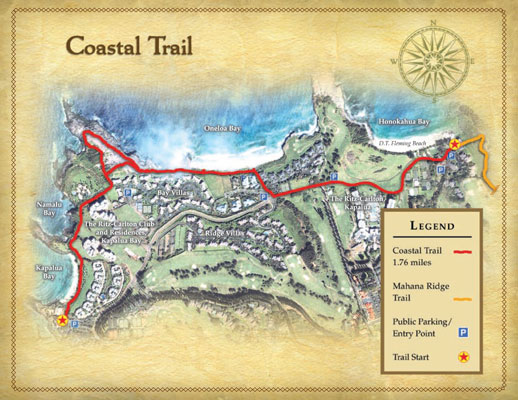 Coastal Trail Map