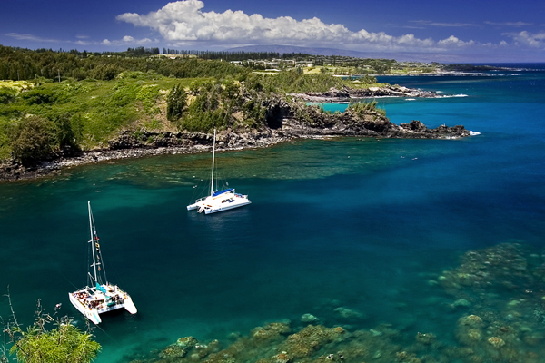 Honolua Bay Is An Excellent Location For Summer Snorkeling But Due To The Large Swells That Attract Top Surfers From Around World This Should Not Be